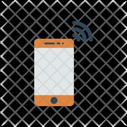 Wireless Mobile Icon