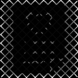 Wishlist Glyph Icon