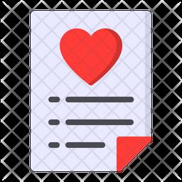 Wishlist Flat Icon