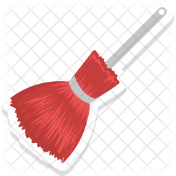Witch Broom Icon Of Sticker Style Available In Svg Png Eps Ai Icon Fonts