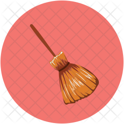 Witch Broom Icon Of Flat Style Available In Svg Png Eps Ai Icon Fonts