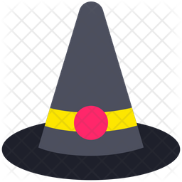 Witch Hat Icon Of Flat Style Available In Svg Png Eps Ai Icon Fonts