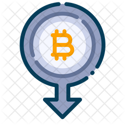 Withdraw bitcoin Icon