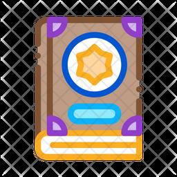 Wizard Book Icon