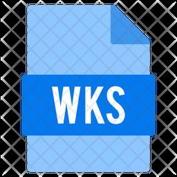 Wks file Icon