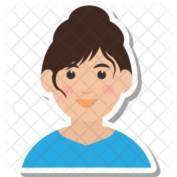 Woman Icon Of Flat Style Available In Svg Png Eps Ai Icon Fonts