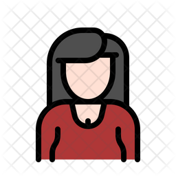 Woman Icon Of Colored Outline Style Available In Svg Png Eps Ai Icon Fonts