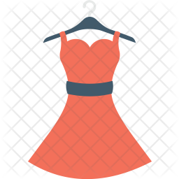 Woman Dress Icon Of Flat Style Available In Svg Png Eps Ai Icon Fonts