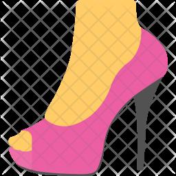 Woman shoe Icon