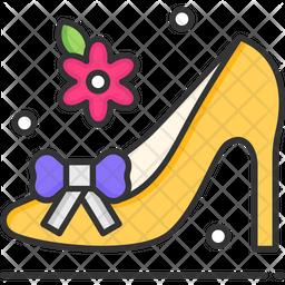 Women cut shoe Icon