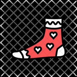 Women sock Icon