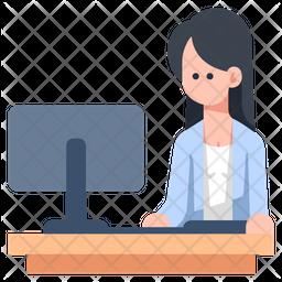Women working Icon