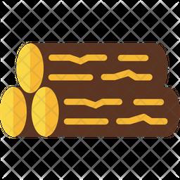 Wood Flat Icon