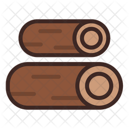 Wood Fire Icon