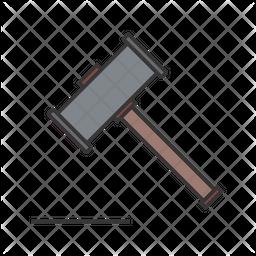 Wood Hammer Icon