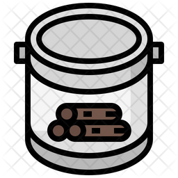 Wood Paint Icon