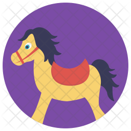 Wooden Horse Icon Of Flat Style Available In Svg Png Eps Ai Icon Fonts