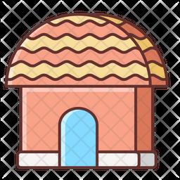 Wooden Hut Icon