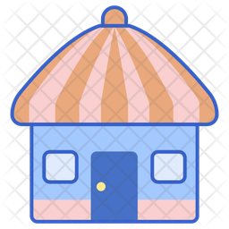 Wooden Hut Icon