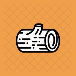 Wooden log Icon