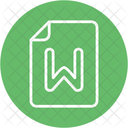 Word Icon Of Line Style Available In Svg Png Eps Ai Icon Fonts