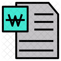 Word File Icon Of Colored Outline Style Available In Svg Png Eps Ai Icon Fonts
