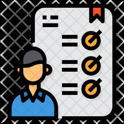 Work Checklist Icon