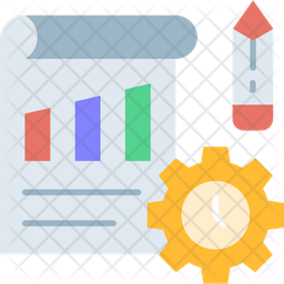 Work Plan And Time Icon