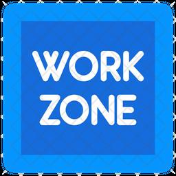 Work Zone Icon