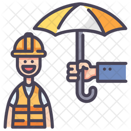 Worker Insurance Icon