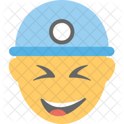 Worker Smiling Icon