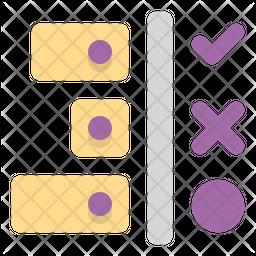 Workflow Flat Icon