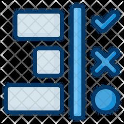 Workflow Dualtone Icon