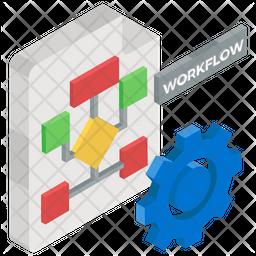 Workflow Automation Icon