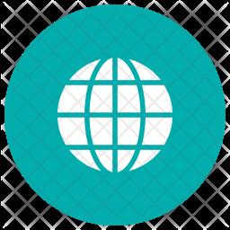 World Glyph Icon