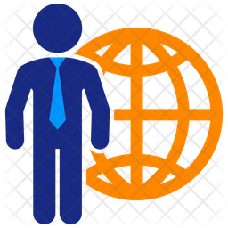 World Business Flat Icon
