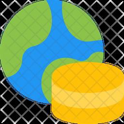 World Database Flat Icon