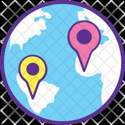 World location Icon