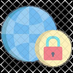 World Lockdown Icon