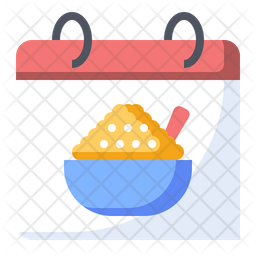World porridge day Icon