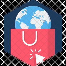 World Shopping Icon