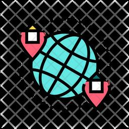 Worldwide Hotels Icon