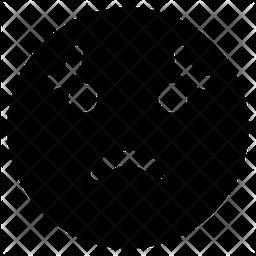 Worried Face Emoji Icon