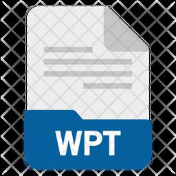 Wpt file Icon