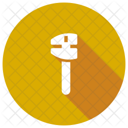 Wrench Glyph Icon