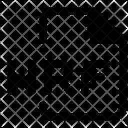 Wrf File Glyph Icon
