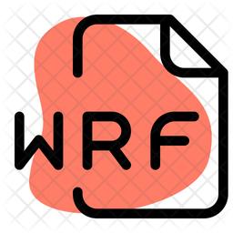 Wrf File Dualtone Icon