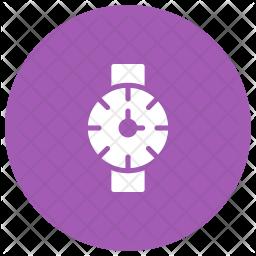 Wristwatch Glyph Icon