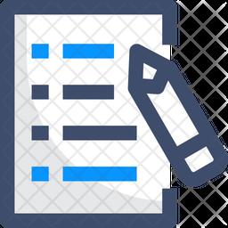 Write Icon