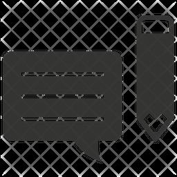 Write Feedback Icon
